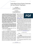 Comparism of Single Phase Power Factor Correction for Series and Parallel Topologies