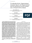 The Effects of Leadership Styles, Organizational Climate, Environmental Aspects and Organizational Commitment and Job Satisfaction on the Lectures' Performance of Kopertis III in Jakarta