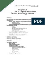 Regulation of Organic Metabolism, Growth, And Energy Balance, Vander Et Al 2001, UNFINISHED