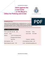 Police Complaint – 8 Nov 2015 Redact