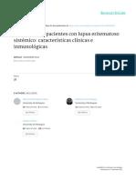 Ciento Quince Pacientes Con Lupus Eritematoso RCR 2014