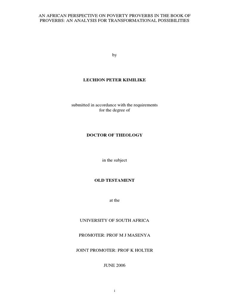 Recent Dissertations | Religious Studies