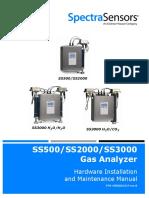 SpectraSensors S2000 Manual