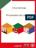 técnicas de procesado de carnes