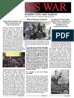 Class War Vol 2 No 5 Winter 2015-16