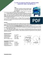 TR - AILM - Filtre Automate Cu Pyrolusit (Metalic)