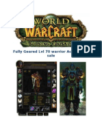 World Of Warcraft lvl 70 Account for sale