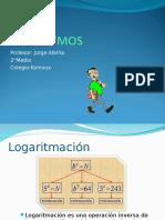 07.- Propiedades de Logaritmos