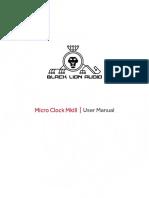 BLACK MC Mk3 Manual