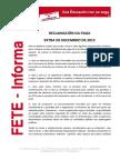 Fete Informa Pagaextra