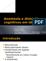 Anestesia e Distúrbios Cognitivos Em Idosos