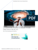 4 Essential Steps to Make Your Dreams a Reality _ Spirit Science