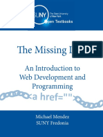 The Missing Link an Introduction to Web Development and Programming PDF