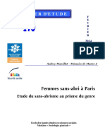 Dossier 170 - Femmes Sans Abri