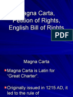 Petition of Rights, Bill of Rights