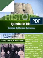 Historia de La Iglesia de Dios en El Salvador