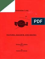 Fraternitas LoFraternitas Loki - Nature, Magick and Being.pdfki - Nature, Magick and Being