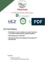 Lecture 2 - Fluid Mechanics