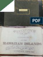 1860-70 Hawaiian Statistics