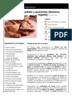 5. Empanadilla de Patata y Guisantes (Samosa Vegetal)