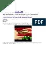 Polvorones de Navidad (Sin Grasa Animal) _ La Boca Chocolate