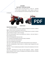 TRACTORS- TYPES AND UTILITIES