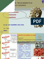 Anticoagulantes hematínicos