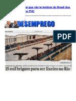 32 Capas de Jornal Que Vão Te Lembrar Do Brasil Dos Anos 90 e Governo FHC
