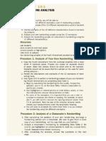Activity 10-1 Handwriting Analysis