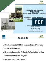 Análisis Proyecto HDH Refinería Puerto La Cruz 24 11 15 - Luis Soler