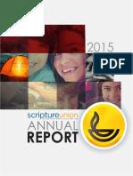 Scripture Union Annual Report 2015
