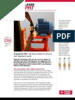 Alineador Poleas Fixturlaser Pat PDF 375 Kb