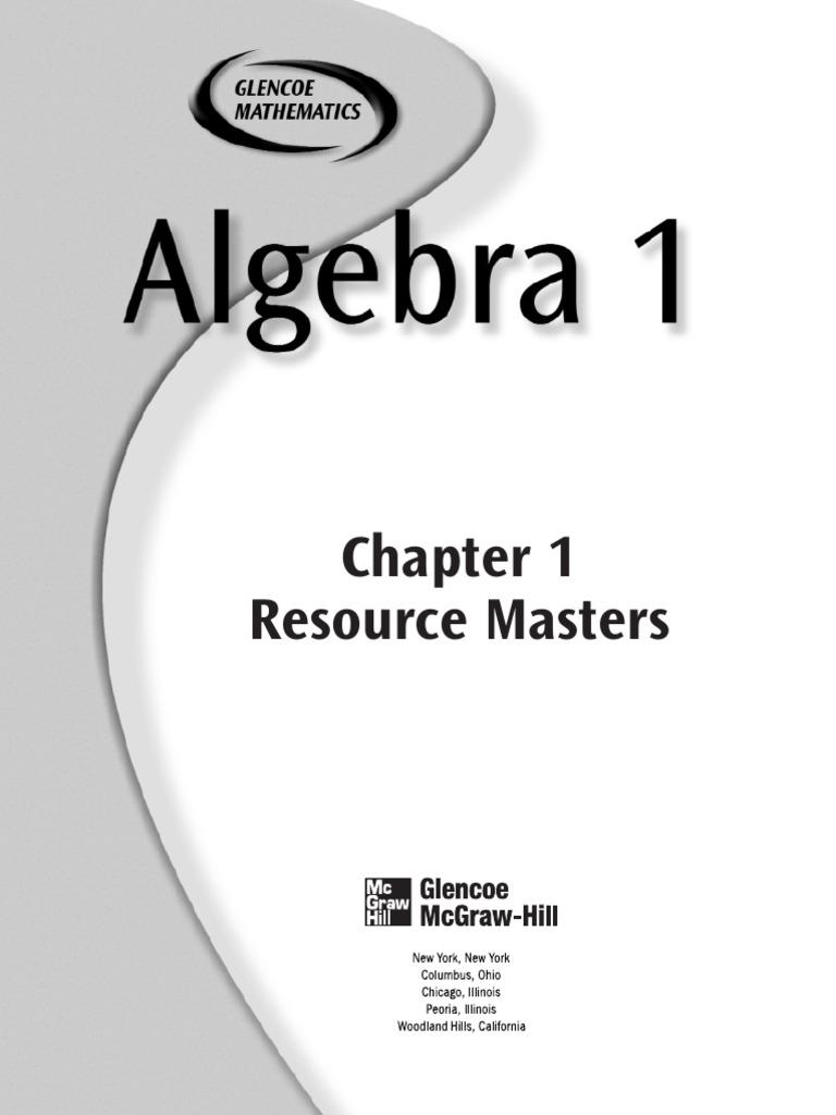 california algebra 1 homework book answers