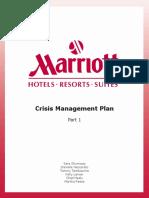 marriot crisis plan