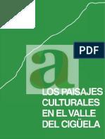 Los paisajes culturales en el valle de ciguela