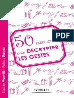 50 Exercices Pour Décrypter Les Gestes