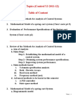 Week 1 Exercise Questions and Answers -Control Y3 2011-122