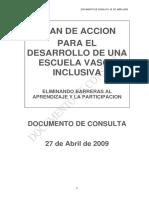 Escuela Vasca Inclusiva