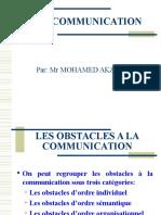 ObstacleS à La Communication