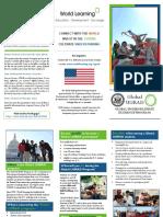 Student UGRAD Brochure (INFORMATION FOR ANYONE)