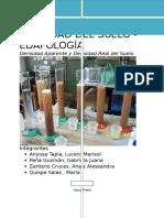 Informe de Laboratorio Edafología