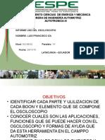 Informe 1 Uso Osciloscopio