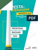 Proposal BazaarPW 2015 Surabaya