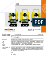 Manual Do Usuario - Teodolito GeoMax