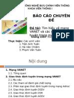 SLIDE Tim Hieu Ve Mang VANET Va Cac Giao Thuc Dinh Tuyen