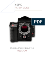 RED Epic Mysterium Manual