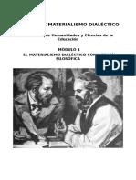 Módulo 1 FHUCE - Materialismo Dialéctico