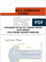Laminer and Turbulent Flow