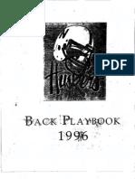 1996 University Nebraska RB-Playbook