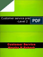 Customer Service Training Level 2